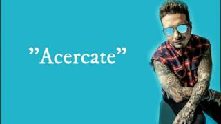 J balvin ft yandel - Acercate (video lyric)