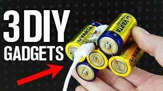 3 DIY Gadgets and Life Hacks