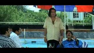 Udayanaanu Tharam comedy - Saroj Sir at jimming pool