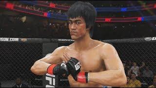 ENTER THE DRAGON!!! UFC 3 PS4 GAMEPLAY - BRUCE LEE VS CM PUNK