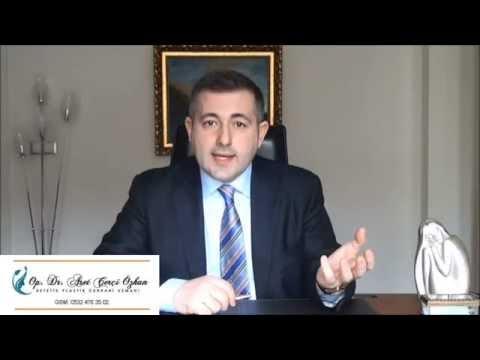 Burun Estetiği (Rinoplasti) Nedir ? : Op. Dr. Aret Çerçi Özkan