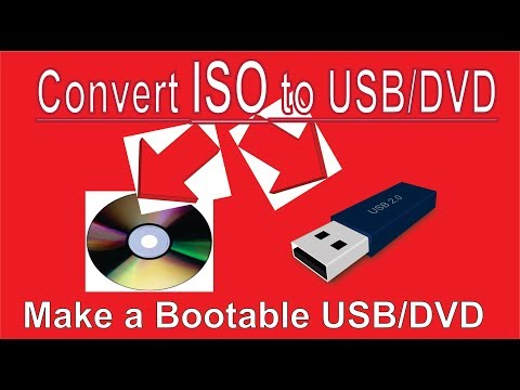 How To Convert A ISO To USB/DVD On Windows [Hindi  Urdu]