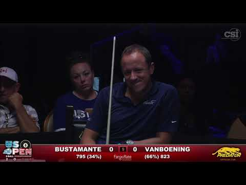 2016 US Open 8 Ball Francisco Bustamante vs Shane Van Boening