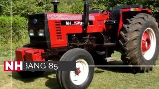 AL- GHAZI NH Dabung 85 HP Tractor Demonstration Video