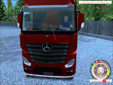 German Truck Simulator Mercedes Actros MP 4