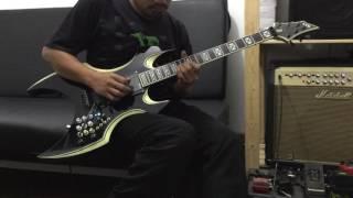 Hebat banget - gitar Luar Di Modif sama Orang Indonesia - awalnya biasa aja - lama lama garang