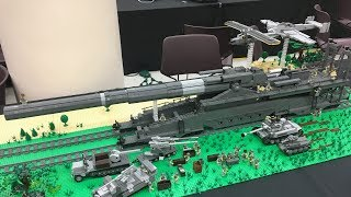 LEGO World War 2 German Gustav Gun