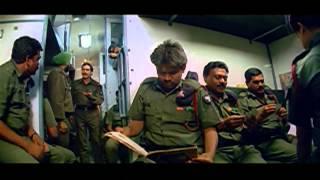 Vijayendra Varma Movie || Mukesh Rishi Escape From Jail  Action Scene || Balakrishna, Laya, Ankitha