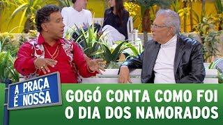 Paulinho Gogó conta como foi seu Dia dos Namorados | A Praça É Nossa (15/06/17)