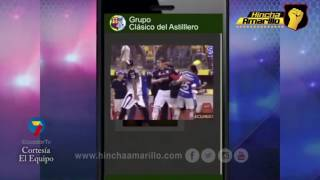 Whatsapp Emelec - Barcelona | Cortesía de El Equipo - Ecuador TV