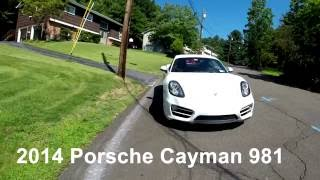 Car Reviews: 2014 Porsche Cayman 981 2.7