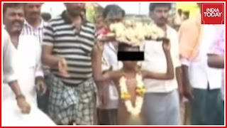 Child Paraded Naked For Rains In Karnataka