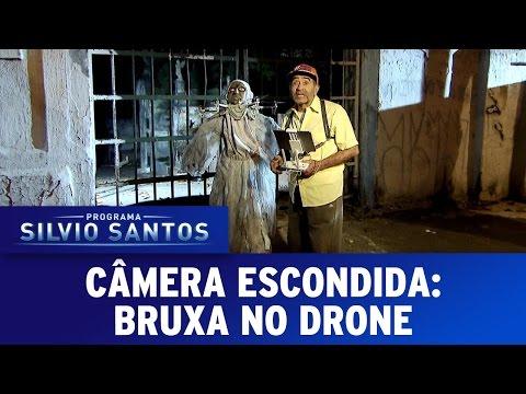 Câmera Escondida 18 09 16 Bruxa no Drone Wicked Witch Prank