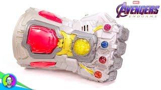"""NANO INFINITY GAUNTLET"" Avengers Endgame Version Review | Hasbro Electronic Fist"