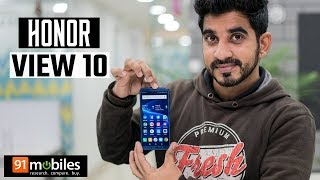 Honor View 10 Hindi Review: Should you buy it in India?[Hindi-हिन्दी]