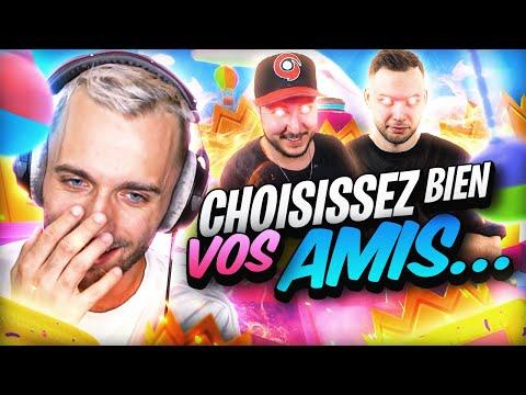 CHOISISSEZ BIEN VOS AMIS 🤡 Fall Guys ft. Locklear Gotaga Mickalow