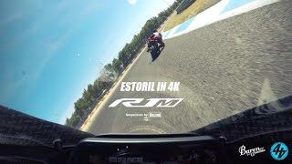 EPIC YAMAHA R1M ONBOARD at ESTORIL in 4K