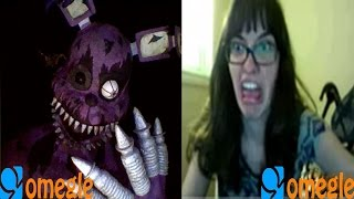 Nightmare Bonnie went on omegle