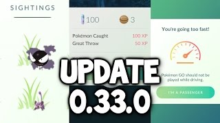 """Pokemon GO ★ NEW UPDATE! - Tracking """"Fixed"""", Throwing XP Fixed, Name Change & Battery Saver on iOS!"""
