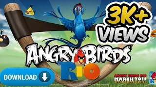 How to download angry birds rio for pc full version without any software for free!|| 100% working