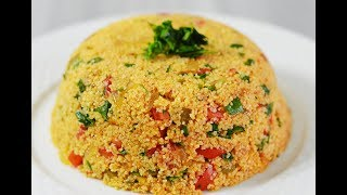 طرز تهیه سالاد بلغور ترکیه ای |Best Turkish Couscous Salad Recipe (Kısır) - Eng Subs