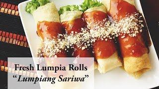 Lumpiang Sariwa/ Fresh Lumpia Recipe