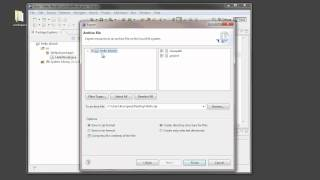 Exporting Eclipse Projects Using zip Files