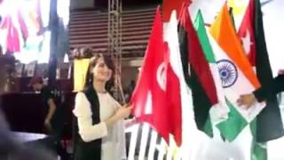 وزيرة شؤون الشباب والرياضة تفتتح بطولة العالم لكرة السرعة بقصر الرياضة بالمنزه