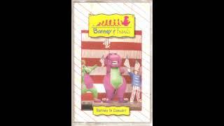 Barney in Concert (1991 Audio Cassette TIME LIFE Version)