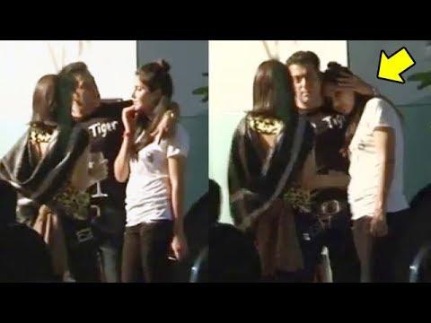 Salman Khan And Katrina Kaif CAUGHT Red Handed in Public