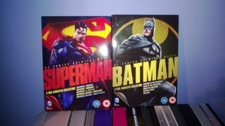 Batman/Superman animated movie collection Review