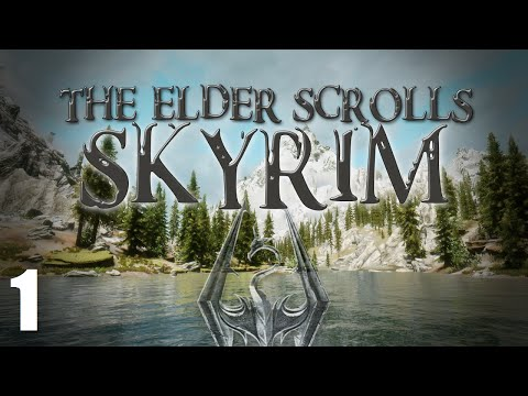 Let's Play Modded Skyrim - Part 1 - Naked In The Snow