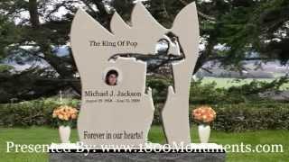 Michael Jackson Tombstone Monument Design