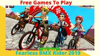 Fearless BMX Rider 2019 - Game Sepeda Simulasi Petualangan Bersepeda yang Sempurna