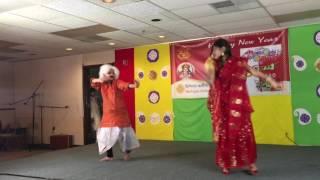 O Tunir Ma dance by Priyanka and Lolita Roy (Bangla)