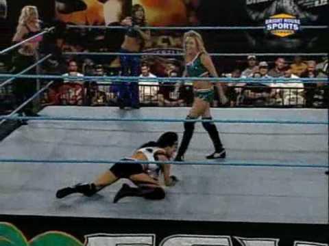 Courtney Taylor Naomi Night & Liviana vs. AJ Lee Aksana & Savannah FCW 04.04.10