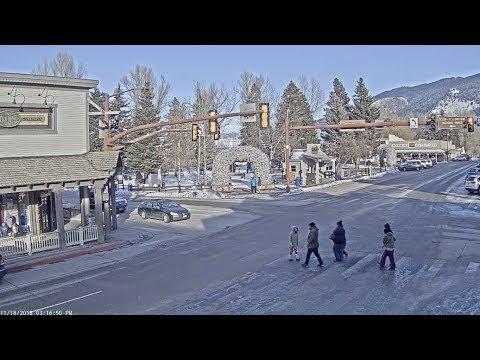 Xxx Mp4 Jackson Hole Wyoming USA Town Square Live Cam SeeJH Com 3gp Sex
