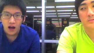 hot korean guys in library