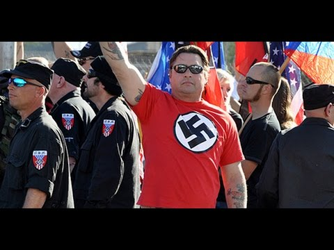 Armed White Supremacist March Against Jews