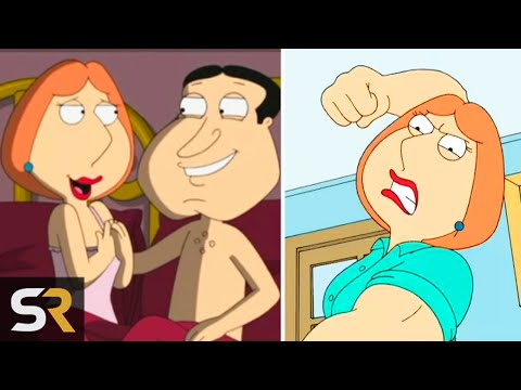 Xxx Mp4 10 Times Lois Griffin Was Worse Than Peter Family Guy 3gp Sex