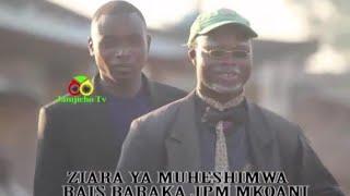 Raisi Magufuli Kamvulia Kofia Baraka Magufuli: Sasa Ikulu Rasmi 03