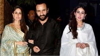 Kareena Kapoor & Saif Ali Khan ATTEND Daughter Sara Ali Khan