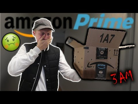 I BOUGHT SOMETHING ON AMAZON PRIME AT 3AM AND THIS IS WHAT THEY SENT ME