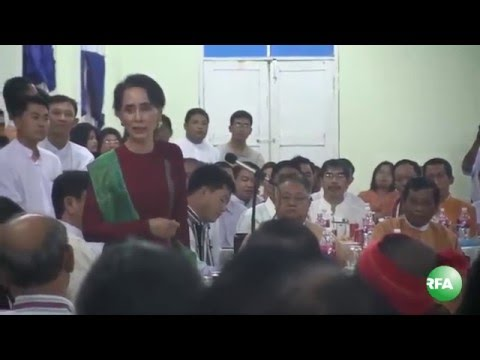 Aung San Suu Kyi Meets with MPs from Ethnic Political Parties