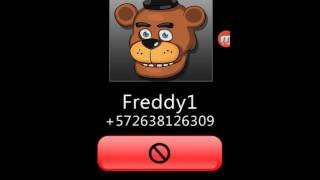 Fake call Freddy is very bad