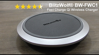 BlitzWolf BW-FWC1 Fast Charge Qi Wireless Charger review