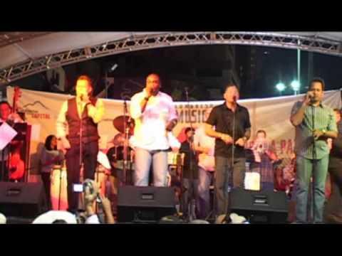 Congreso de Salsa 2009 Caracas Marcial Isturiz con la Orquesta de Willie Rosario