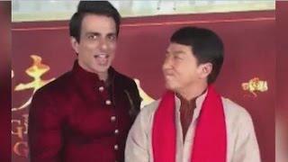 Watch | Jackie Chan greets Salman Khan in desi avatar!