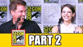 ARROW Comic Con 2016 Panel Highlights (Part 2) - Stephen Amell, Emily Bett Rickards, Willa Holland