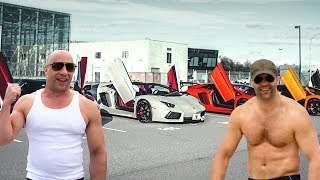 Jason Statham's Cars VS Vin Diesel's Cars ★ 2017